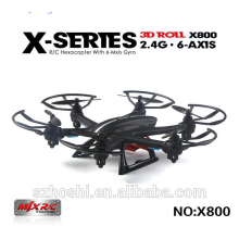 MJX X800 2.4GHz 6 Axis 4 Channel Flying Drones 3D Flips LED Light Hexacopter