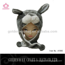 Ear flat hat with bear pattern for sale