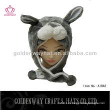 Ухо плоская шляпа с медвежьим рисунком для продажи