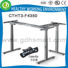 Jambe de bureau réglable en hauteur de liège avec 3 jambes et support de table élévateur de table de rouleau de studio à vendre