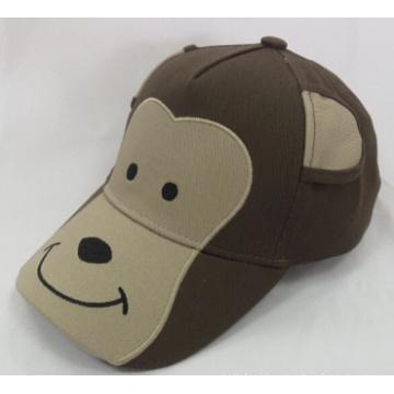 Monkey Animal Kids Baseball Cap Woven Cap (WB-080152)