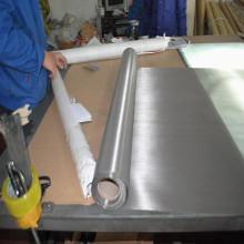 Engranzamento de fio liso do Weave do aço inoxidável 304
