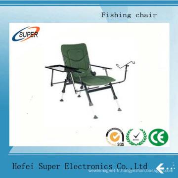 Chaise de voyage pliante de pêche avec siège de pique-nique pour tabouret