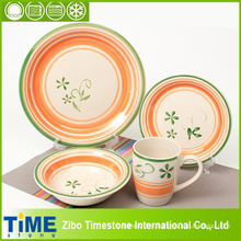 Penteado 20PC cerâmica Dinnerware Set (15032102)
