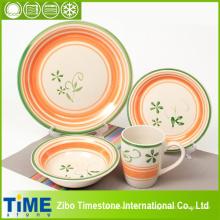 Ensemble de vaisselle en céramique peint à la main 20PC (15032102)