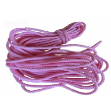 1.5mm Rosa Twisted Cord för shoelack