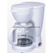 Máquina de 12 copos interruptor cafeteira com jarra de vidro