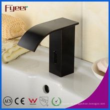 Faucet automático de sensor de latão de borracha de óleo com água fria