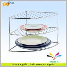 Dos niveles o tres niveles de acero inoxidable para soporte de cocina