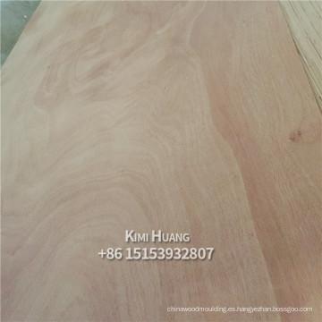 Bintangor Marine Plywood 3mm 4mm, Okoume Plywood para muebles, hojas de madera contrachapada comercial de 18mm