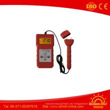 Ms7200 + Digital-Backlit-Anzeige-Pappschachtel-Papierfeuchtigkeitsmesser mit großem Bildschirm