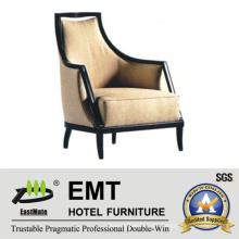 Nice Design Hotel Sofa Chair with Armrest (EMT-SC01)