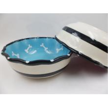 Plato de cerámica para perros