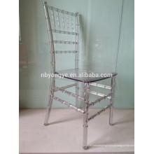 Plástico Puro chiavari cadeira