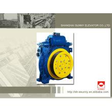 Levantar a máquina gearless da tração, 320kg - 2500kg