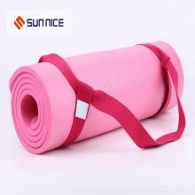 Venda quente 100% Algodão Yoga Esteira Carrying Strap com Logotipo