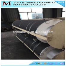 Electrodo y pezón de carbono de grafito fuerte y puro a petición
