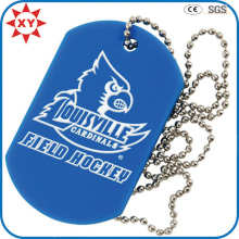 Plastic Printed Logo Military Dog Tags