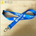 personalised key id badge silk screen lanyard