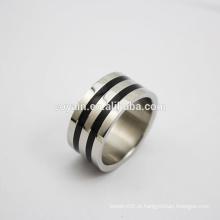 Venda Por Atacado aço inoxidável casamento anel de noivado anel