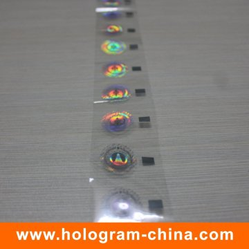 Wash Aluminum Hologram Hot Stamping Foil