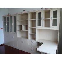 Sala de estudo barata Escritório de madeira Ikea