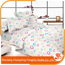 Cheap soft polyester bed sheet fabric from china