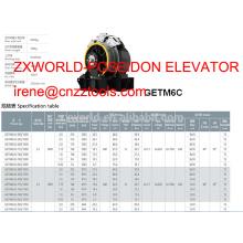 traction machine XIZI forvorda GETM6C double wrapping