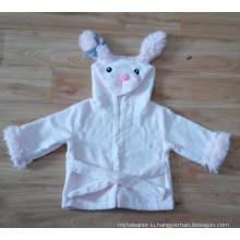 100% Cotton Terry Kids Cute Bathrobe