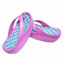 Women's Beach Flip Flops, Available in Different Upper Designs, Durable and Breathable