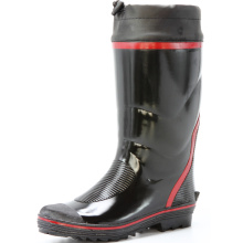 men's rubber warm rain boots for winter