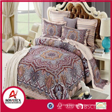 2018 queen size bedsheet printed for bedroom,high quality and cheap bedding set