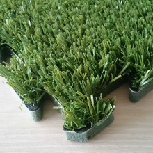 Simplificar la instalación Green Interlocking Green Synthetic Turf