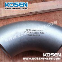 Raccords de tuyauterie en acier inoxydable (coude)