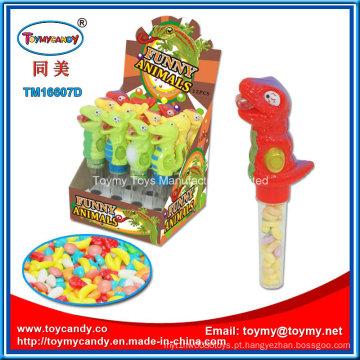 Brinquedo Animal engraçado dinossauro com doces