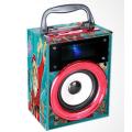 A professional mini wooden speaker