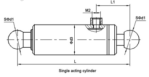 single wall plunger cylinder