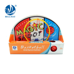 New style sport toy mini basketball board design with PVC ball