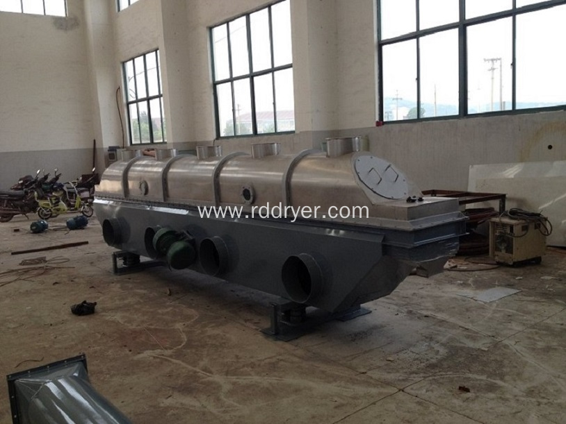 Plum crystal special vibrating fluidized bed dryer