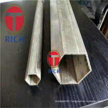 Stainless Steel Inside and Outerside Hexagonal Steel Pipe