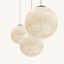 Nordic Chandelier Moon shape Acrylic Light LED Pendant Lamp