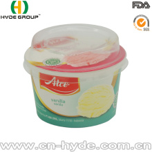 100ml Disposable Ice Cream Paper Cups with Logo