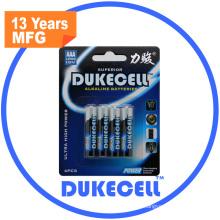 Blister Card Packing Lr03 AAA Am4 Alkaline Battery