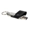 Chaveiro pendrive de metal 4 GB