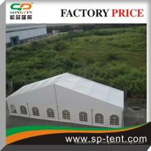 Billig großes Hochzeitsfest Zelt mit Aluminium Glastür 25x50m für Party und Bankett