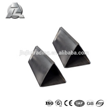 Tube triangulaire en aluminium anodisé 6061 t6 10mm