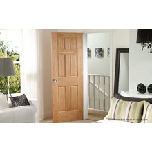 Entrance Natural Grains Interior Wooden Door Prices