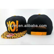 3d золотые буквы болтами Snapback Cap шляпу