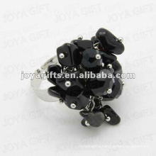 Wrap Rings with Black Onyx Chip stone