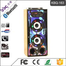 BBQ KBQ-163 10W 1200mAh CE Certificate Audio Input and Output Home Stereo Speakers with Microphone